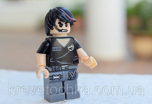 Лего минифигурка SWAT Willian Ln, фото 2