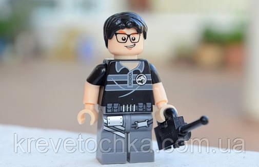 Лего минифигурка SWAT Jack Lu, фото 2