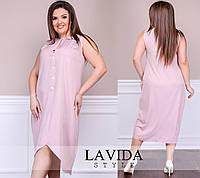 Женское батальное платье 50-58