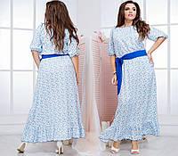 Женское батальное платье 50-62, фото 1