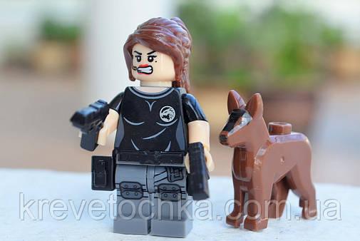 Лего минифигурка SWAT Rose Li, фото 2