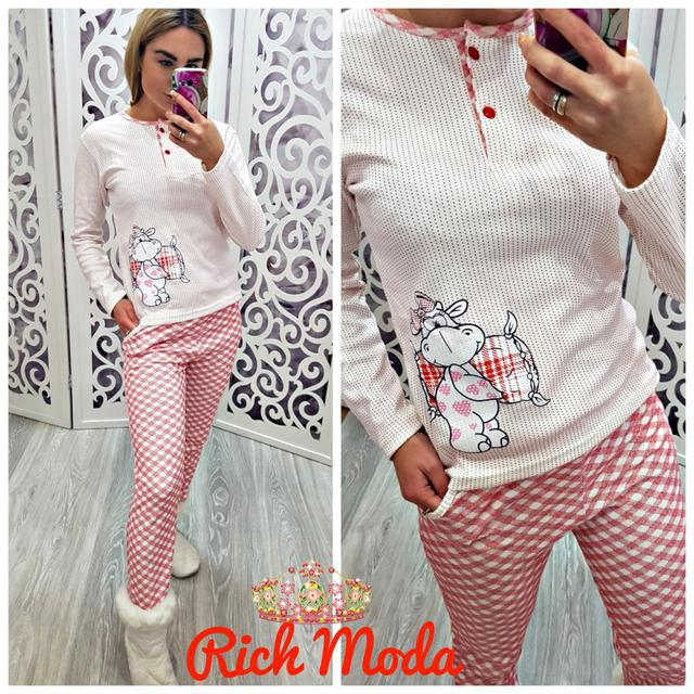 Пижама женская интерлок Турция — купить недорого в Харькове в ... 211515225028f