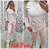Женская пижама Турция интерлок 100% хлопок, фото 1