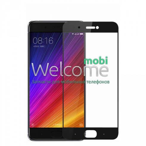 Стекло для Xiaomi Mi5s Plus (0.3 мм, 2.5D, с олеофобным покрытием) black