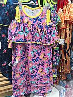Платья летние трикотажное для девочки