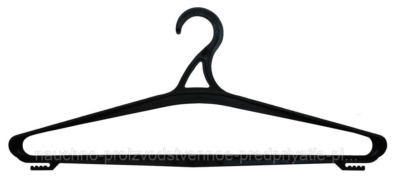Вешалка  черная  № 06. Размер 52-54