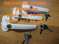 Оконные и дверные ручки с ключом, антидека.