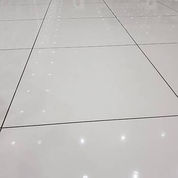 Керамогранит полированный белый 600x600