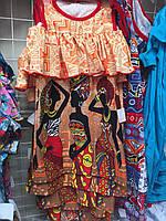 Платья летние привлекательное трикотажное для девочки