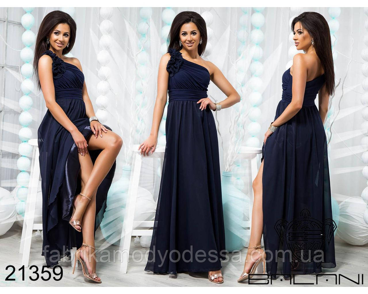 020931a2e6ee Нарядное вечернее платье на одно плечо Производитель Украина  интернет-магазин Россия СНГ р.42-48