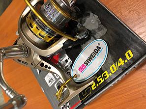 Катушка Siweida c3.0F, 8 подшипников, шпуля металл , фото 2