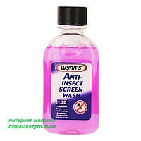 """""""Антимошка"""" жидкость омывателя стекла, летняя, концентрат Wynns Anti-Insect Screen-Wash на 5л"""