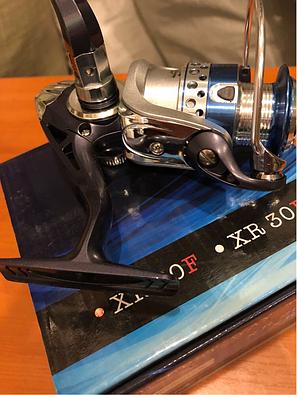 Катушка рыболовная Shark xr30f, 3 подшипника, фото 2