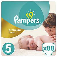 Подгузники (підгузники) Pampers Premium Care Размер 5 (Junior) 11-18 кг, 88 подгузников