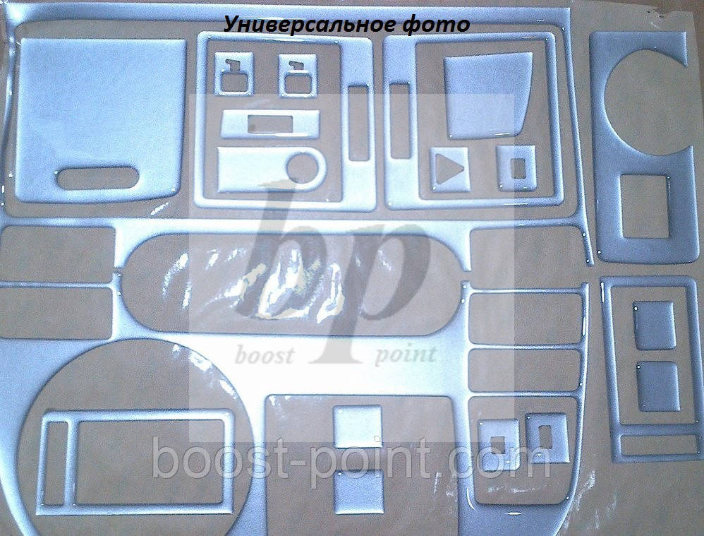 Декор салона (торпеды) алюминий Chevrolet lacetti (шевроле лачетти 2004+)