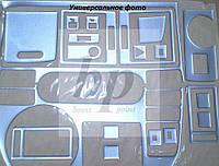 Декор салона (торпеды) алюминий mitsubishi l 200 (митcубиcи л 200 1996г+)