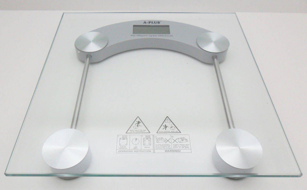 Весы напольные 170 кг A PLUS 1653