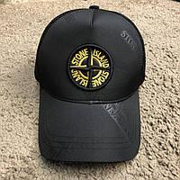 Кепка Stone Island Black/Yellow( копия)