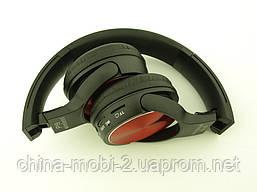 Bluetooth наушники P19 Wireless Headset Extra Bass с FM MP3, в стиле Sony, черные с красным, фото 2