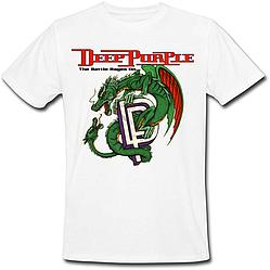 Футболка Deep Purple - The Battle Rages On (белая)