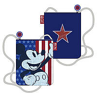 Сумка через плечо, вертикальная Микки Маус /Mickey для мальчиков (18.5x22x1 см) ТМ ARDITEX WD12036