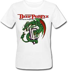 Женская футболка Deep Purple - The Battle Rages On (белая)