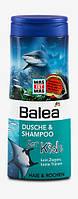 Balea Dusche & Shampoo for Kids Haie & Rochen - Шампунь, гель для душа детский 300 мл