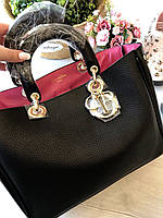 Женская кожаная сумка DIOR Diorissimo lux (реплика) d1c0e478f19ab