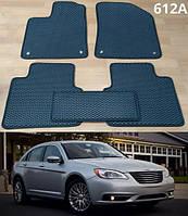 Коврики на Chrysler 200 '10-16. Автоковрики EVA