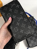 Портмоне LOUIS VUITTON DAMIER CANVAS Monogram (реплика), фото 1