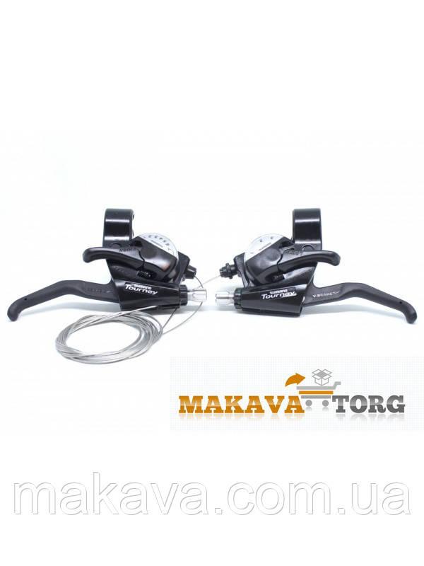 Моноблок Shimano Tourney EZ FIRE Plus ST-EF40 (3x7)