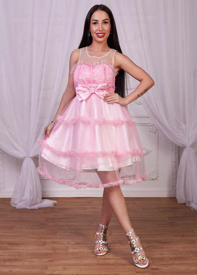 Платье вечернее . (712)