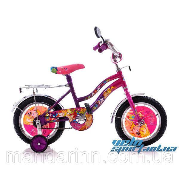 """Детский двухколесный велосипед 12"""" WINX"""