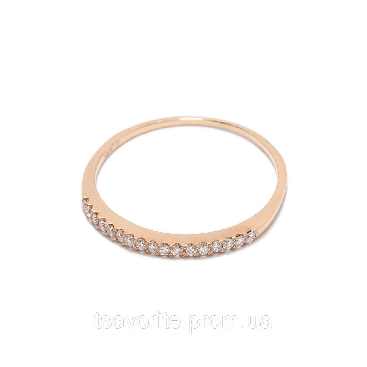 Золотое кольцо с бриллиантами 2231468