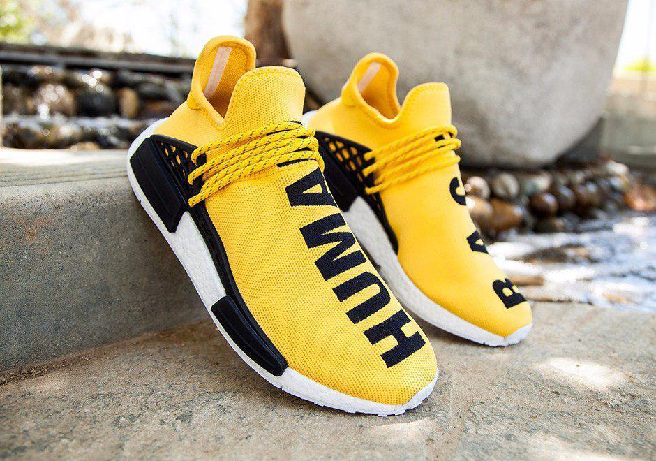 197e8b0c3f0cb5 B Живое фото ( Кроссовки Adidas NMD Pharrell Williams x 'Human Race' Yellow.  B Живое фото (