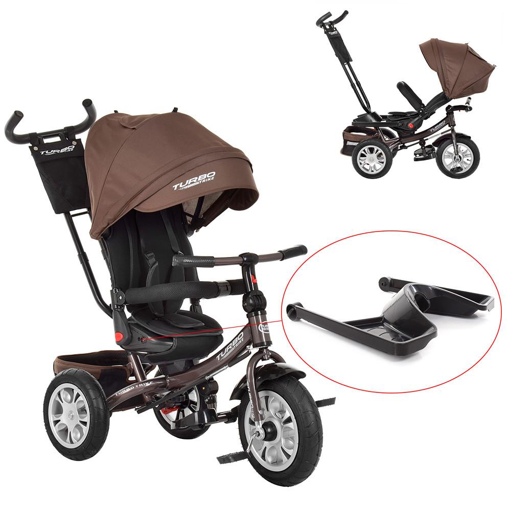 Велосипед трехколесный с поворотным сиденьем трансформер М 3646A-13 TURBOTRIKE