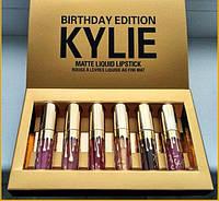 Набор помад Kylie Birthday Еdition 6 шт ( набор матовых помад )