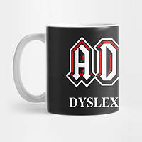Кружка AC DC Dyslexic Edition