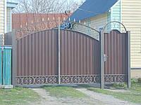 Ворота из профнастила, В-59