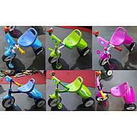 Велосипед трехколесный TILLY TRIKE, ЦЕНА ЗА 1 ШТ, в ящ. 6шт, 6 цветов, кор.,(6шт)