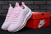 Кроссовки Nike Air Max 97 Ultra Pink White. Живое фото (Реплика ААА+)