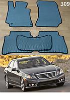 Коврики на Mercedes E-Class W212 '09-16. Автоковрики EVA