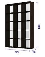 Модульная система COLOR - Стеллаж 3 TM Matroluxe