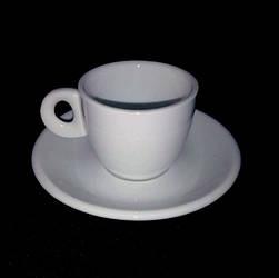 Кофейная пара 75мл (фарфор)