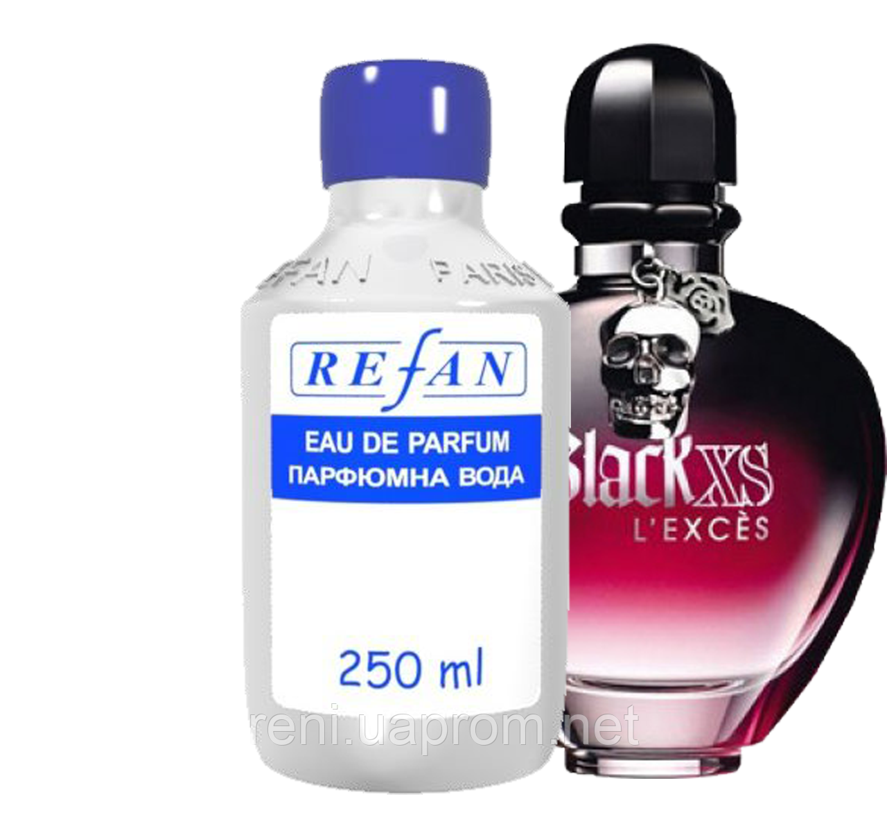Refan 011 версия аромата Black Xs Lexces For Her Paco Rabanne оптом в харків с доставкой по украине
