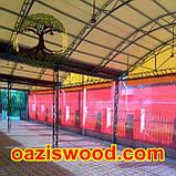 Сетка красная  затеняющая, защитная 3.2м 75%, фото 4