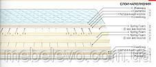 ортопедический матрас Классик  Come-For h18  5 зон зима/лето 120кг, фото 3