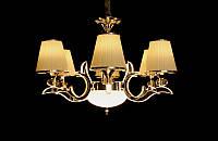 Люстра классическая с ЛЕД подсветкой веток на шесть ламп  8329-6, фото 1