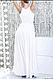 Недорогое свадебно вечернее платье для росписи, фото 2