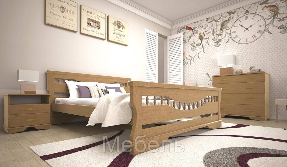 Кровать ТИС АТЛАНТ 10 90*190 дуб